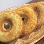 購入して来た「HYGGE(ヒュッゲ)」のベイクドドーナツ4種類(ヨコ)。