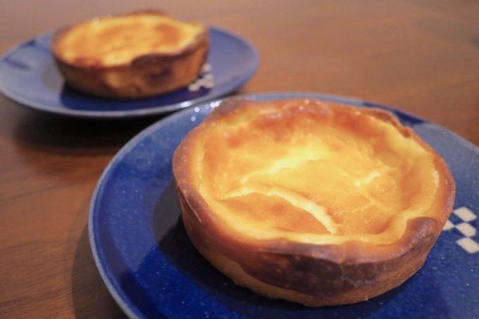 「いまいパン 古島店」のパン屋さんのレアチーズタルト(235円)