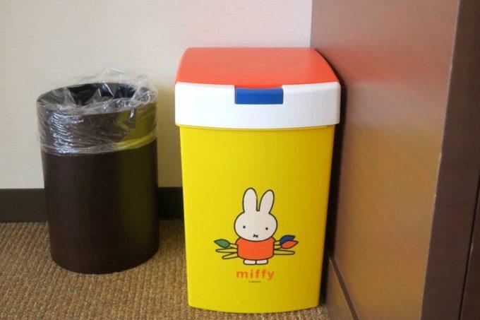 糸満「サザンビーチホテル&リゾート沖縄」でおむつ用トラッシュカン(ゴミ箱)も貸出てもらえた!