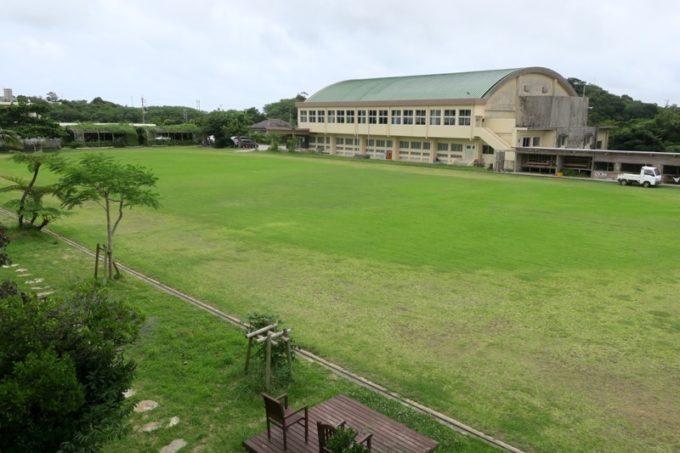 沖縄・今帰仁「あいあいファーム」のグラウンド。