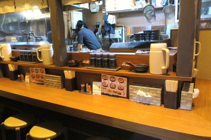 札幌・すすきの「倍煎舎」の店内。