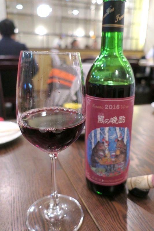 札幌・すすきの「函館 開陽亭 どさんこ家」羆の晩酌(グラス、600円)