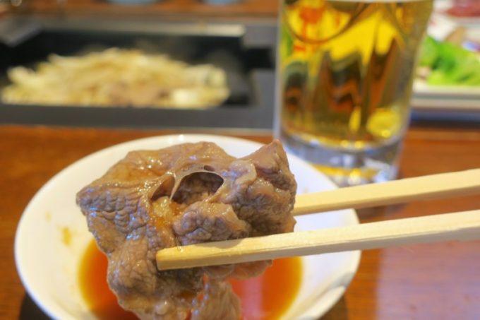 札幌・サッポロビール園「ガーデングリル」のジンギスカンは生ラムだった。