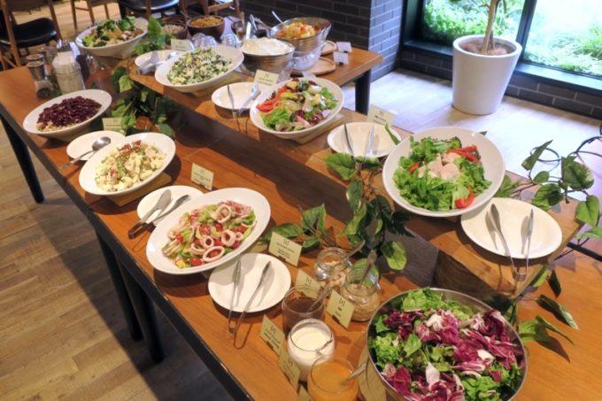 「ホテルエディット横濱」の朝食は野菜がたっぷり!