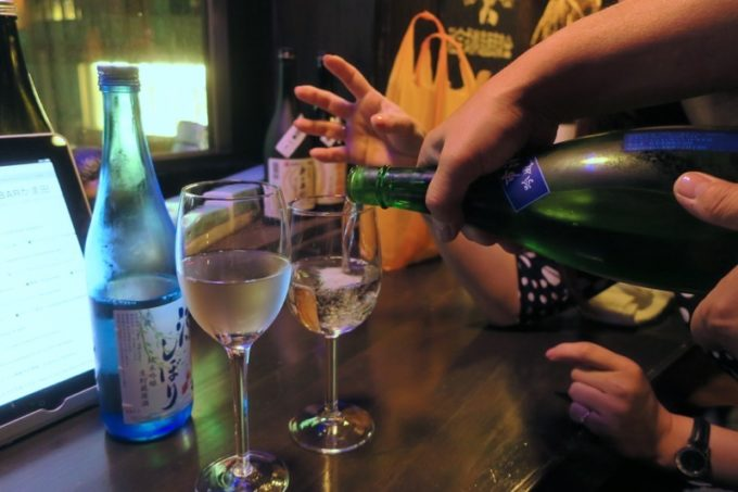 札幌・すすきの「北海道産酒BAR かま田」に来たのなら、日本酒を飲まねばならない。