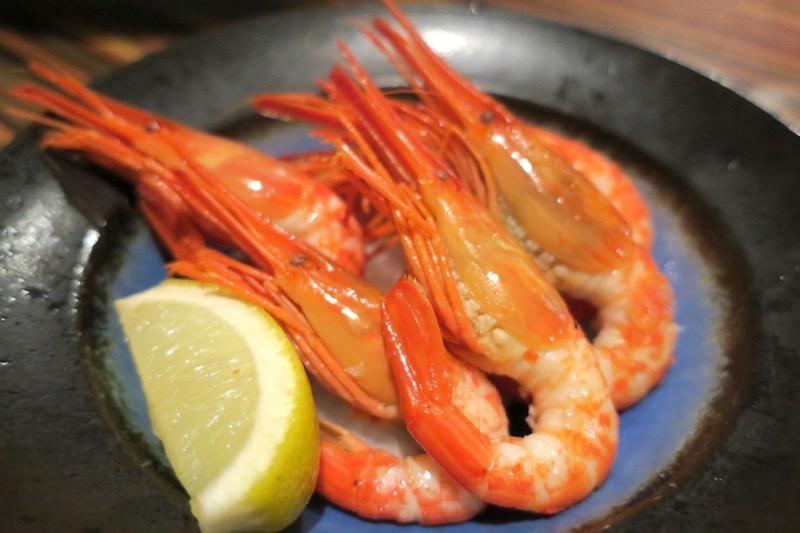 札幌・すすきの「旬菜鮮魚 味和久(みわく)」北海シマエビ