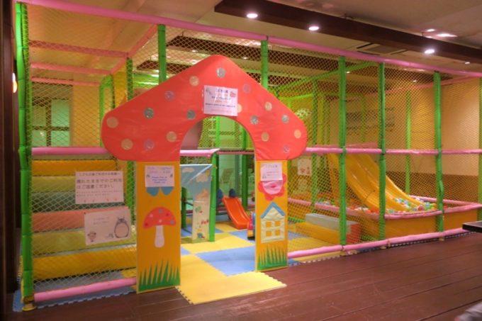 「リザンシーパークホテル谷茶ベイ」のこども広場は30分300円。