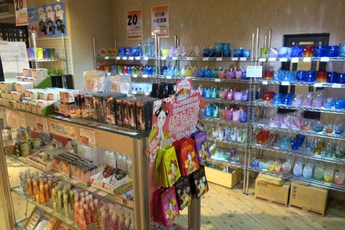 「リザンシーパークホテル谷茶ベイ」の売店(その2)