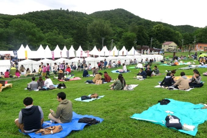 「SAPPORO CRAFT BEER FOREST 2018」ゲレンデの様子(その2)