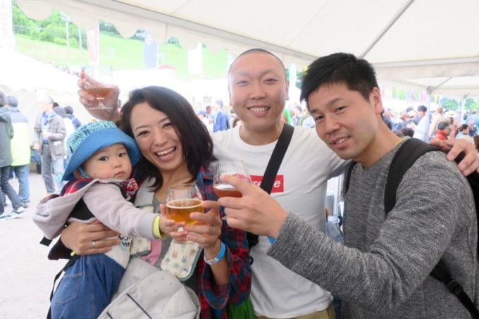 「SAPPORO CRAFT BEER FOREST 2018」で再開した北海道のビール仲間と乾杯&撮影(その1)