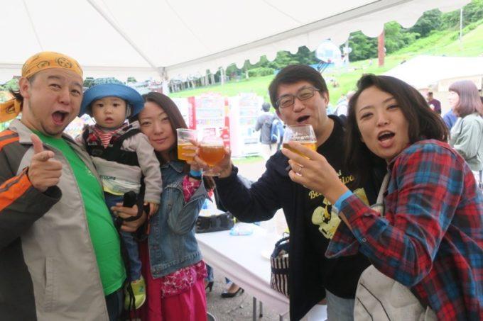 「SAPPORO CRAFT BEER FOREST 2018」で再開した北海道のビール仲間と乾杯&撮影(その2)