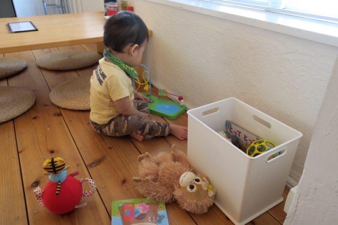 田仲そばには、子供向けにおもちゃが用意されていた。