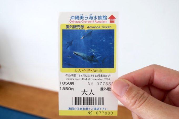 本部町「マリンピアザオキナワ」の宿泊プランによっては、美ら海水族館の入場券がついてくる。