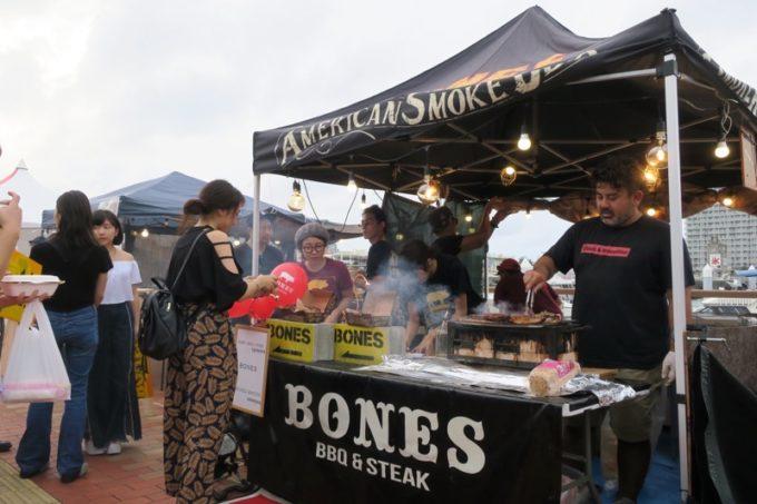 沖縄・北谷「Okinawa Octoberfest 2017(沖縄オクトーバーフェスト2017)」に出店していたBONES。
