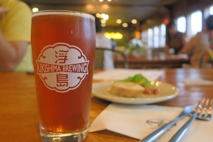 那覇「浮島ブルーイング」ベルジャンIPA(650円)を飲んだら、クラフトビール らしく、以前と風味が変わっていた。