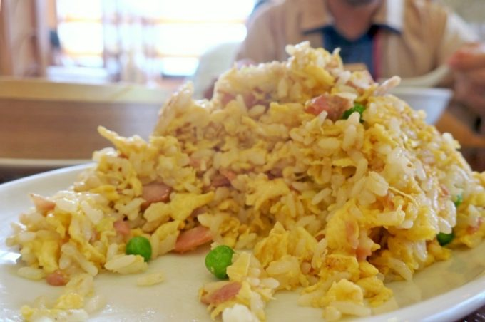 「担々亭 南上原店」叉焼炒飯のボリュームがすごくい。お腹いっぱい。