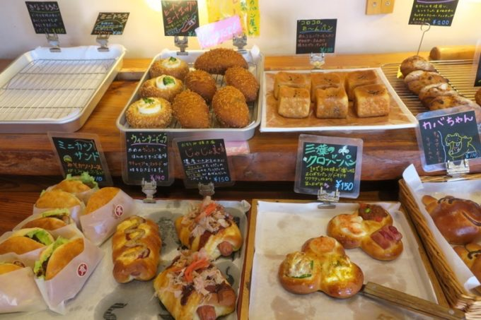 那覇・国場「カバのパン屋さん」で販売されているパン(その1)
