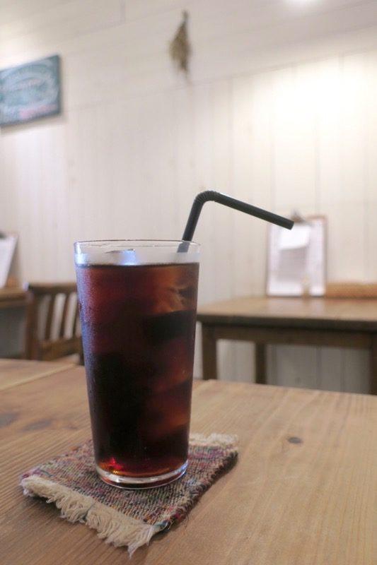 那覇・西町「ピパーチキッチン」食後にアイスコーヒーを追加(150円)