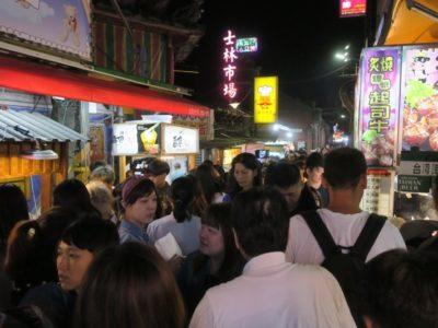 台湾・台北「士林夜市」を訪れた。