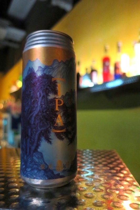 THE WALL公館で飲んだ台湾のクラフトビール 、臺虎精釀 Taihu Brewing IPA(NT$220)