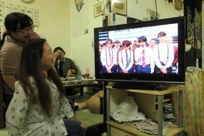 伊江島「食事処 岬」sexyzoneがテレビに出てきて、台湾ブロガーが嬉しがる。
