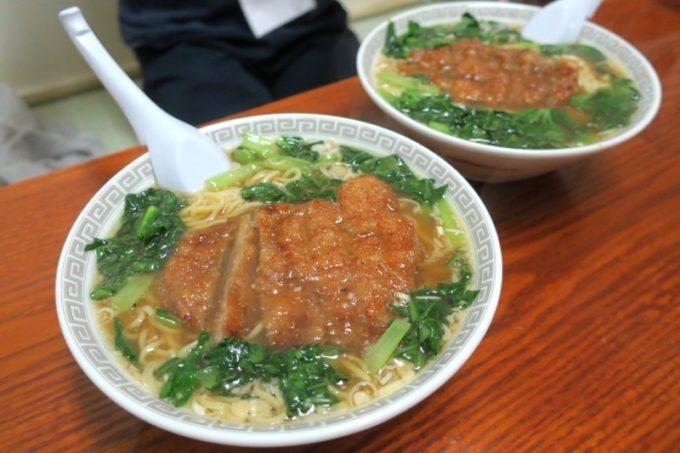 伊江島「食事処 岬」のパーコー麺(600円)