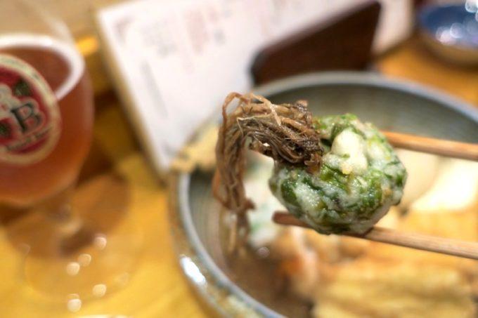 那覇・栄町「べべべ」仙台セリ天(250円)は香り高くウマすぎた。