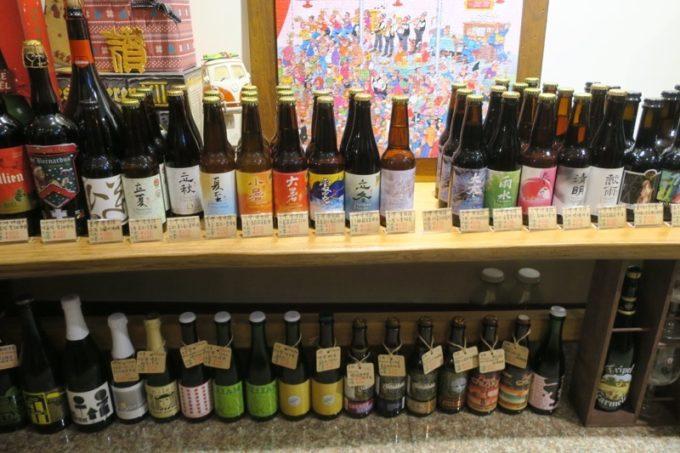 台湾・高雄「Beer Bee」地元・台湾のクラフトビールも並ぶ。