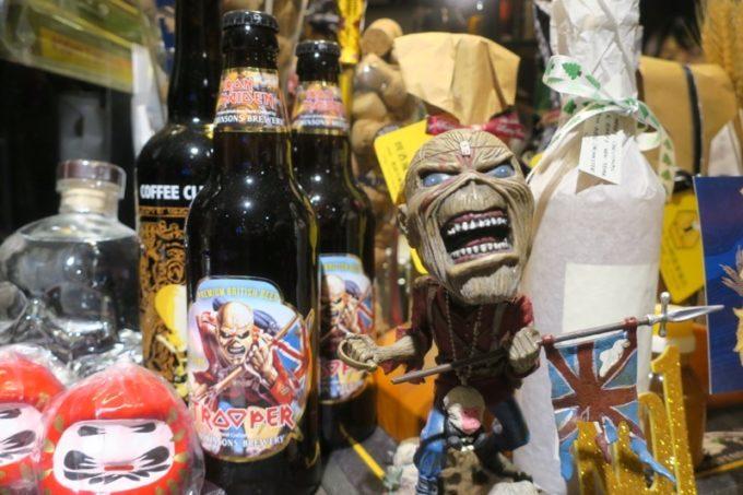 台湾・高雄「Beer Bee」アイアンメイデンのビール、トルーパーがあった!