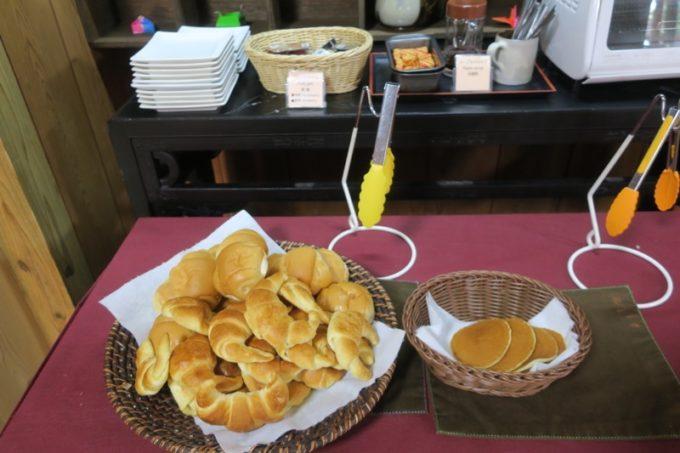 読谷「ホテルむら咲むら」朝ごはんは洋食も用意があった。