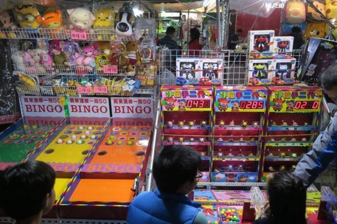 台湾・高雄の「六合夜市」にあった子供向けのおもちゃ屋さん。