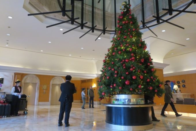 台湾・高雄「リーズホテル(麗尊酒店)」の広々としたロビー。