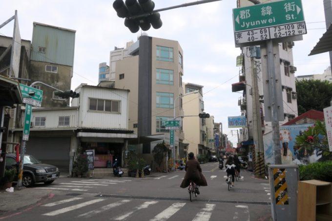 台湾・台南「鴨母寮市場」から郡緯街へ異動。