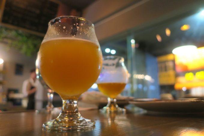 台湾・高雄「掌門精釀啤酒 高雄chacha店」ヘイジーなフルーツサワーエール(TWD210)
