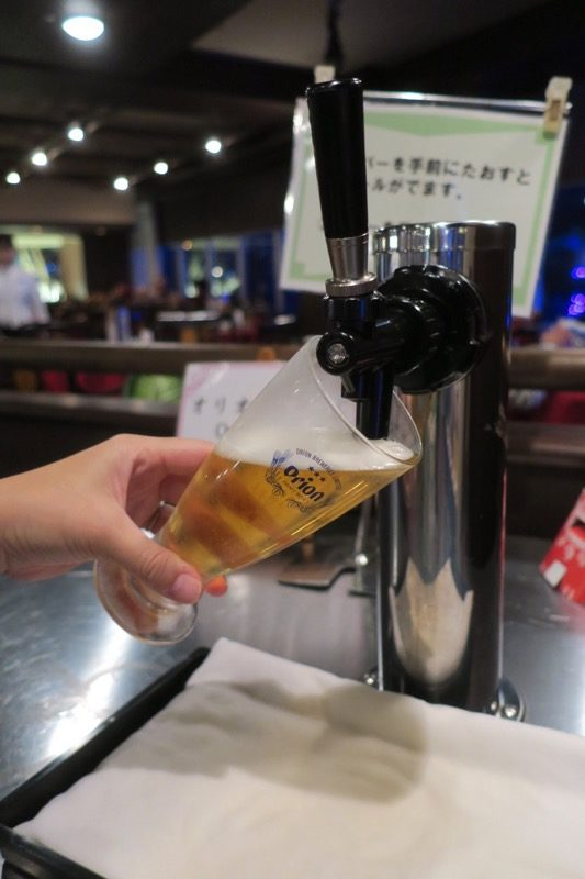 リザンシーパークホテル谷茶ベイ「飲茶&広東料理 マンダリンコート」のディナーバイキング(飲み放題は全てセルフサービス)