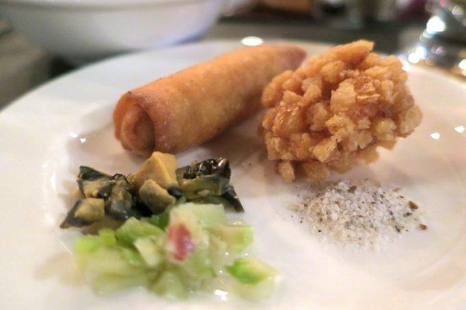 リザンシーパークホテル谷茶ベイ「飲茶&広東料理 マンダリンコート」のディナーバイキング(揚げ物天国)