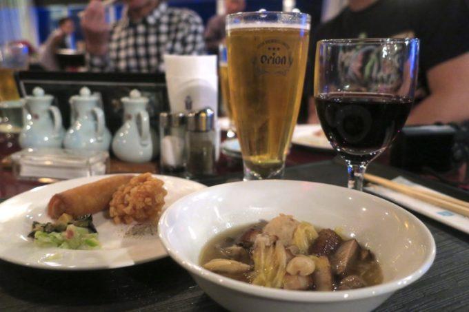 リザンシーパークホテル谷茶ベイ「飲茶&広東料理 マンダリンコート」のディナーバイキング(ビールもワインも飲み放題)