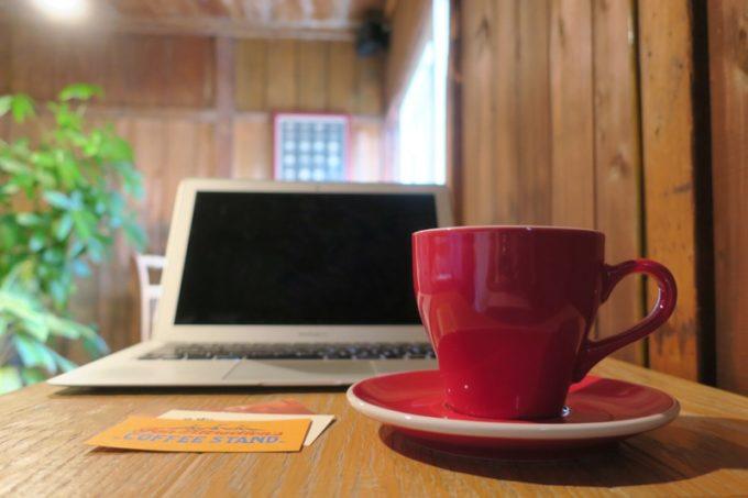 那覇・牧志「T&M COFFEE(ティーアンドエムコーヒー)」本日のコーヒー(ホット、480円)はエチオピアだった。