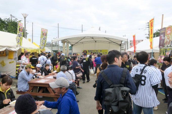 阪神タイガースの宜野座キャンプ(プロ野球春季キャンプ2019)の売店・飲食店など。