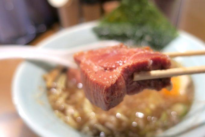 那覇・松山「丸麺屋製作所」の分厚いチャーシュー