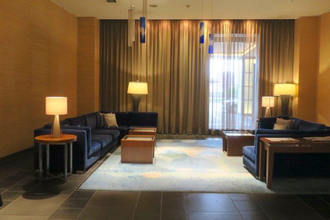 熊本「ANAクラウンプラザホテル熊本ニュースカイ」のロビー