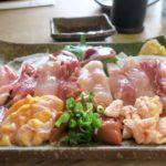 宮崎・都城「ふれあいの里 梅北本店」地鶏の刺身上(盛り合わせ、1100円)