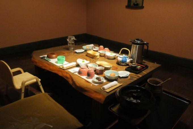 宮崎「極楽温泉 匠の宿」山水の個室(ききょう)