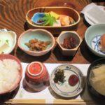 宮崎「極楽温泉 匠の宿」山水で食べた朝ごはん。