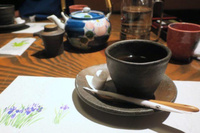 宮崎「極楽温泉 匠の宿」山水でいただいた朝食後のコーヒー。