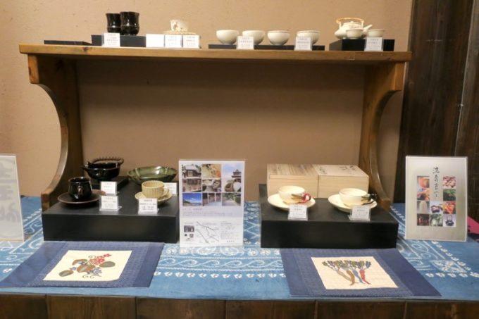 宮崎「極楽温泉 匠の宿」フロント付近で売られているお土産品(その1)