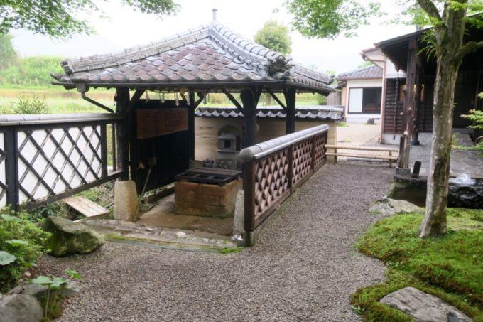 宮崎「極楽温泉 匠の宿」の脇にあった東屋