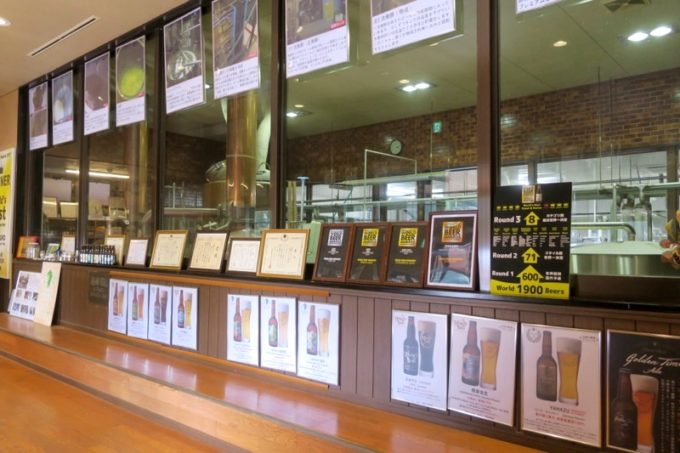 「宮崎ひでじビール」の工場の様子
