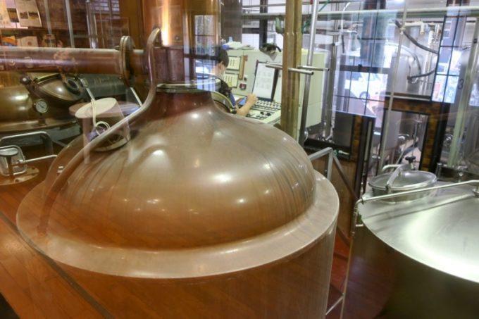 「宮崎ひでじビール」の醸造設備の様子(その2)