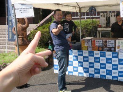 「宮崎ひでじビール」のゴールデンウィークBBQビアテラスでビール争奪じゃんけん大会